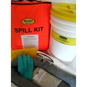 Oil & Liquid Spill Kit - Orange Bag