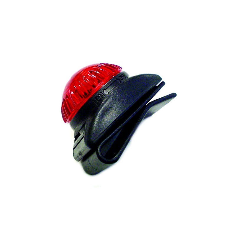 Clip-It Dual Signal Light Red
