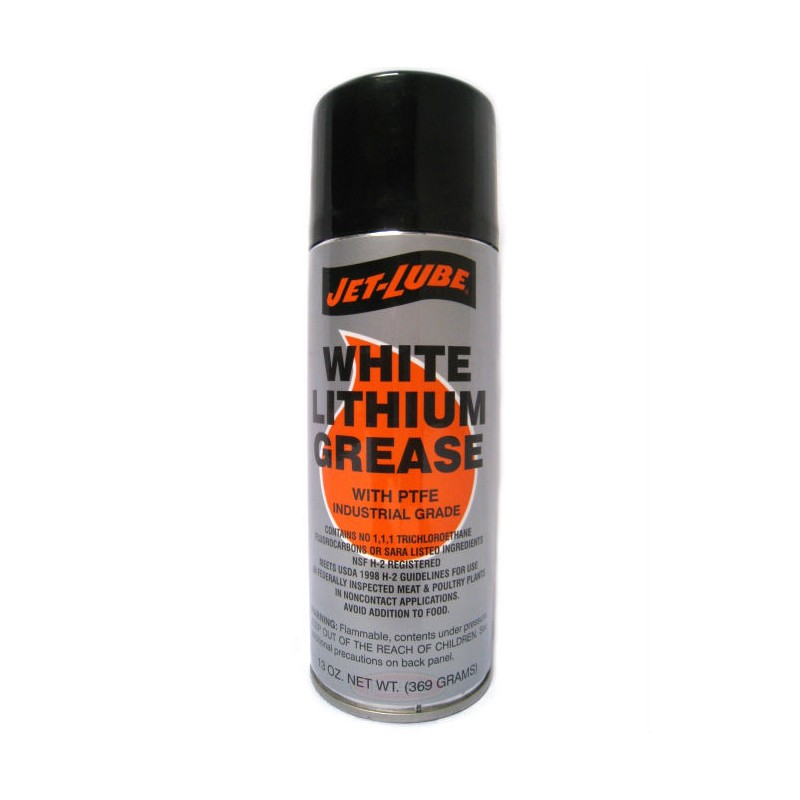 Food Grade Grease : White lithium food grade grease spray with ptfe g