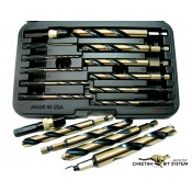 Cheetah Quick Release Drills 12pc Shop Set