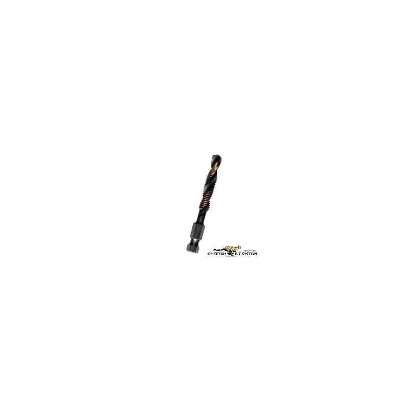 Cheetah Combi-Cut Drill & Tap Imperial 5pc.