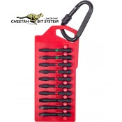 Cheetah Impact Screwdriver Bits SQ/PH/TX 10pc.