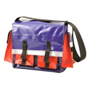 All Weather Vinyl (Small) Red/Blue Tool Bag